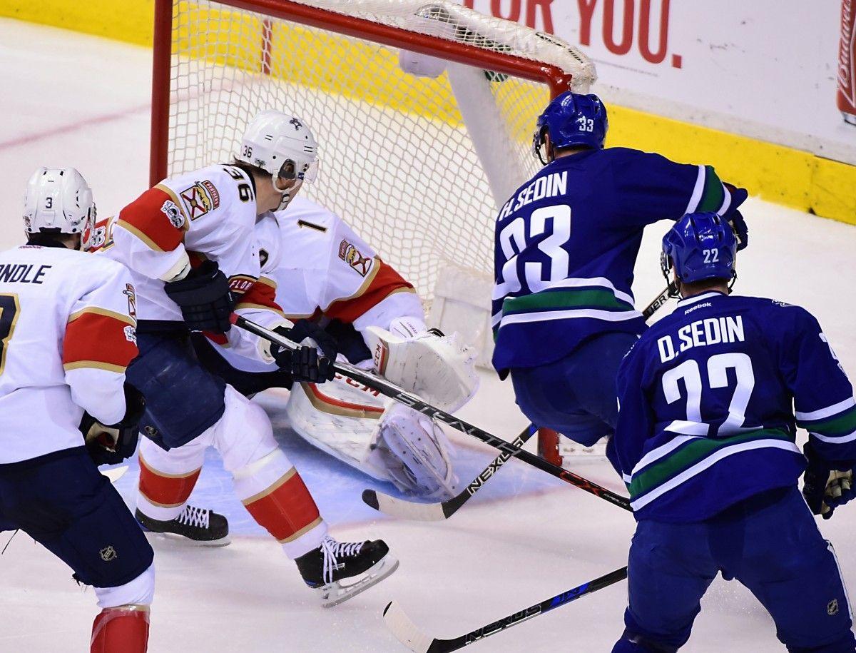 Шведский хоккеист «Ванкувера» Седин набрал 1000-е очко НХЛ