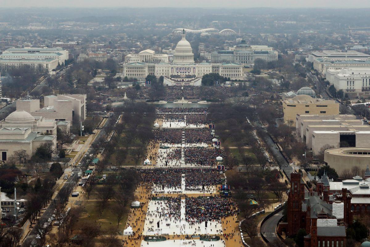 Церемонию инаугурации Трампа поглядели около 31 млн американских телезрителей