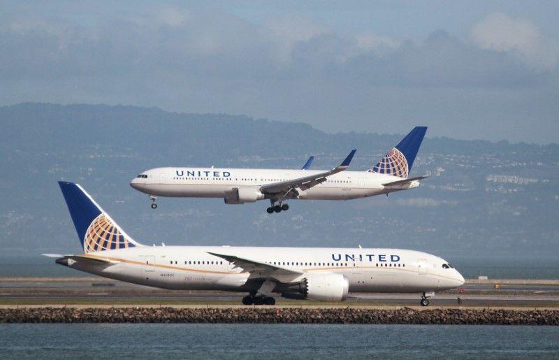 Авиакомпания United Airlines остановила полёты вСША из-за компьютерного сбоя