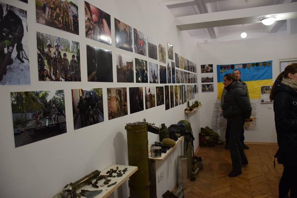 У Тернополі відкрили інтерактивний Музей бойових побратимів