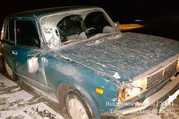 На Тернопільщині внаслідок ДТП загинув 31-річний чоловік