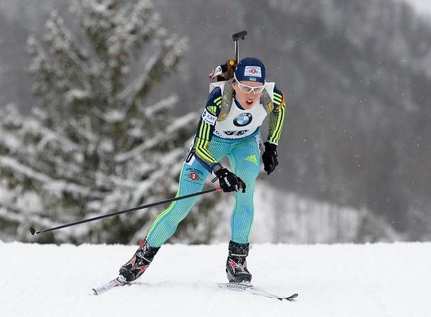 ЧЕ-2017 побиатлону: украинка Меркушина завоевала «бронзу» в особой гонке