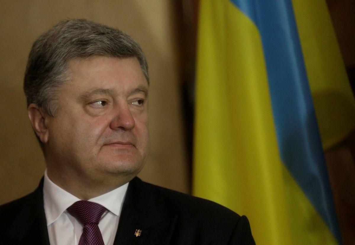 Порошенко призвал Европарламент поддержать предложение опредоставлении Украине торговых преференций