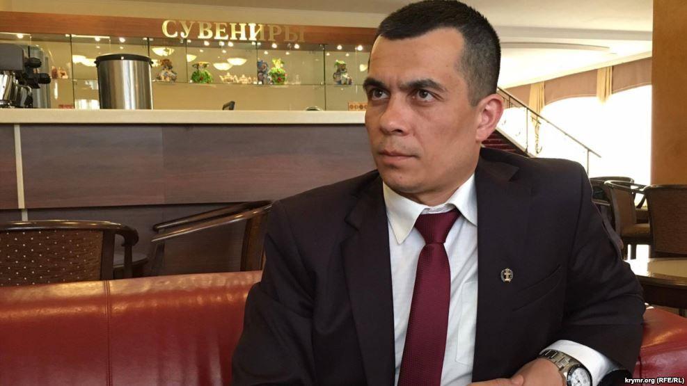 Схваченного вКрыму юриста Курбединова арестовали надесять суток