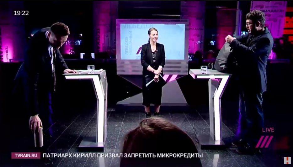 Алексей Навальный похвалил В. Путина вэфире канала «Дождь»