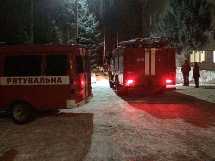 ВСумах под многоэтажкой взорвался газовый счетчик, милиция допускает версию теракта