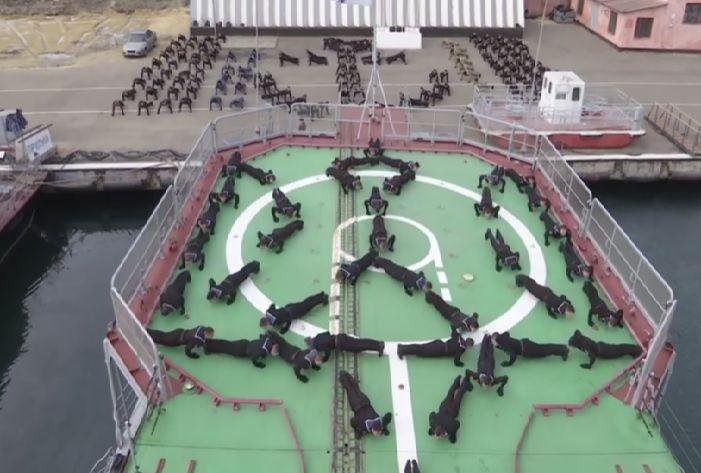 #22PushUpChallenge: водесском университете ВМС присоединились кфлешмобу