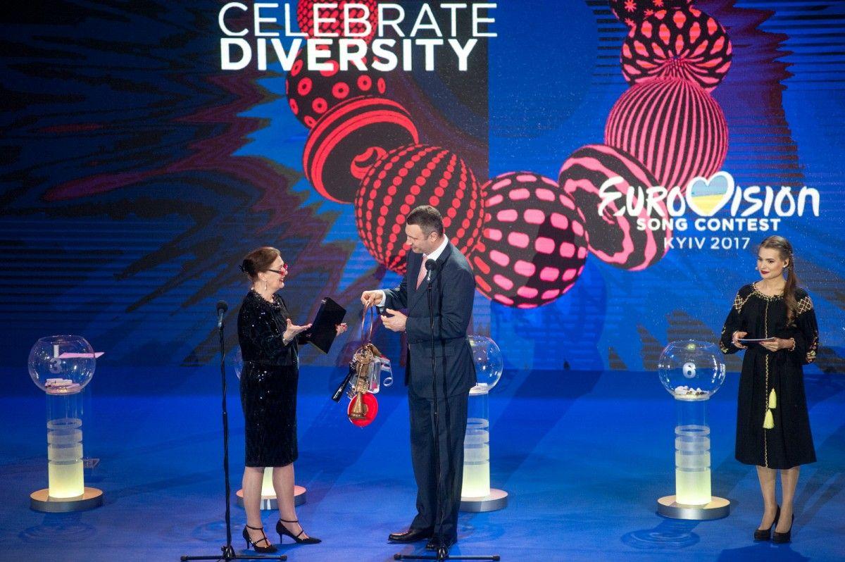 Кличко похвастался ключами от«Евровидения»