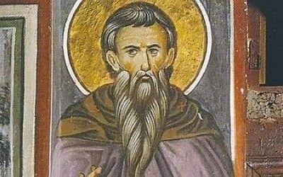 Преподобномученики Ватопедські: подвиг ігумена Євфимія і дванадцяти іноків title=