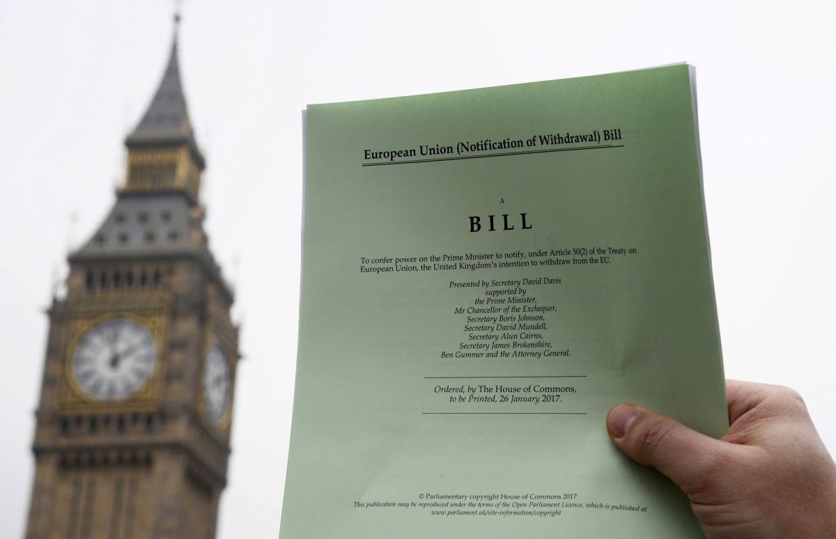 Британский парламент неподдержал попытку заблокировать проект оBrexit