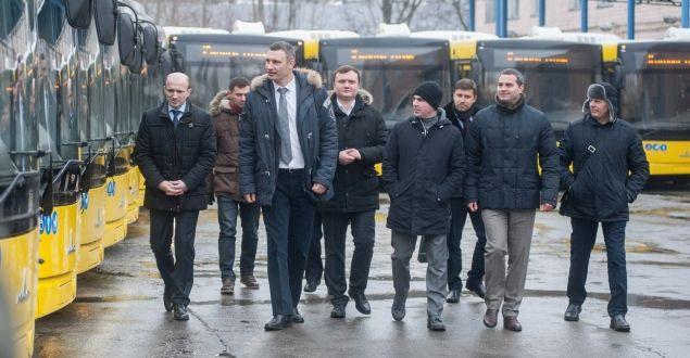 Киев закупил 50 новых автобусов соответствующих стандартам EURO-5