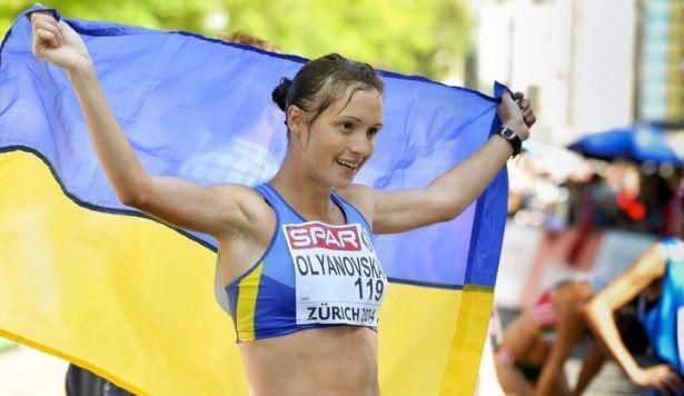 Бронзовый призерЧМ входьбе украинка Оляновская дисквалифицирована на 4 года