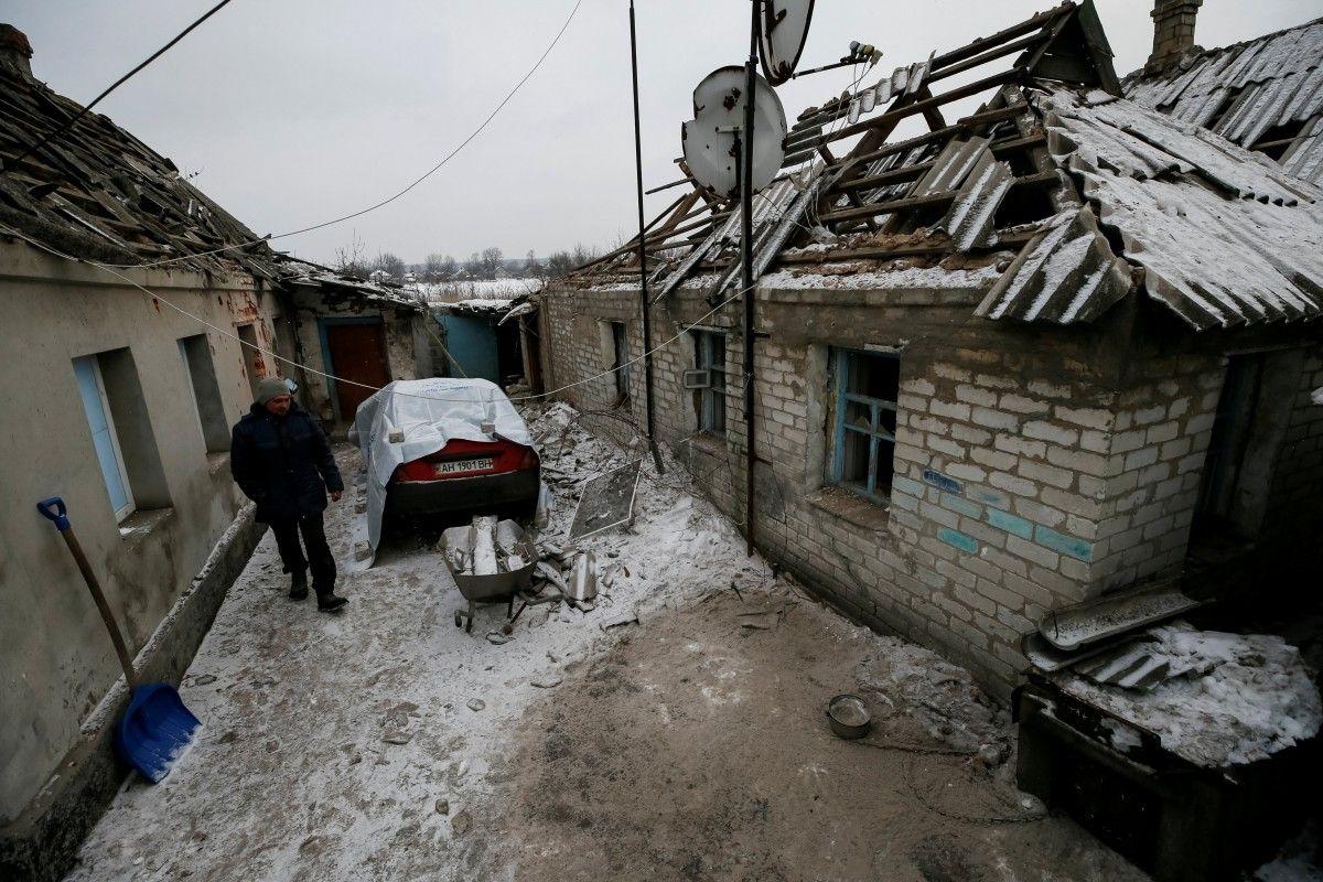 Тука: граждане Донецка пытались остановить обстрел Авдеевки