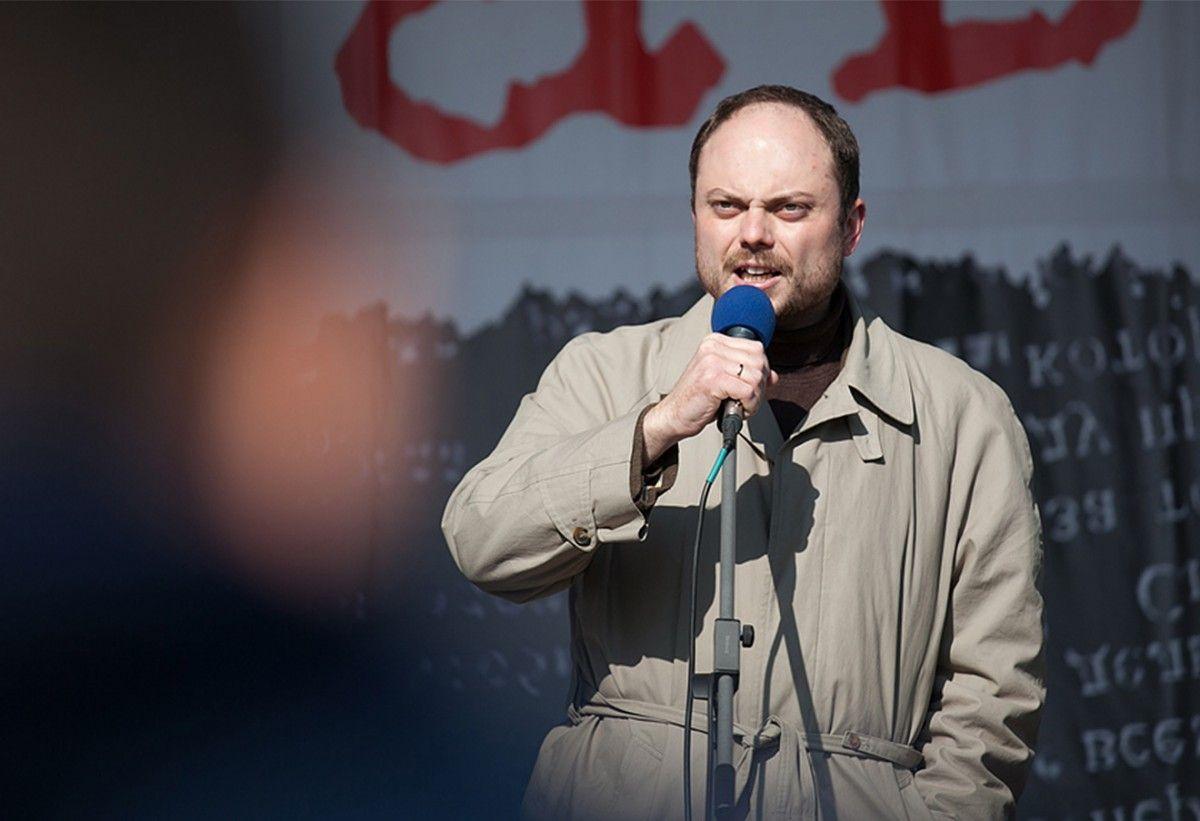 СКпроводит проверку всвязи сгоспитализацией корреспондента Кара-Мурзы сотравлением