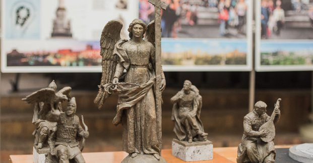 ВХарькове вцентре города появится ангел вместо Ленина