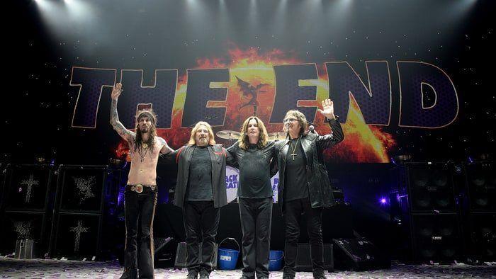 Группа Black Sabbath дала последний концерт