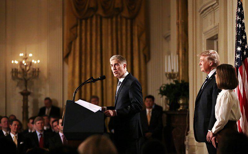 Кандидат Трампа вВерховный суд раскритиковал слова президента осудебной системе