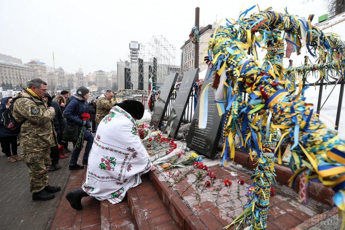 Звание Героя Украины будут присваивать иностранцам изНебесной сотни
