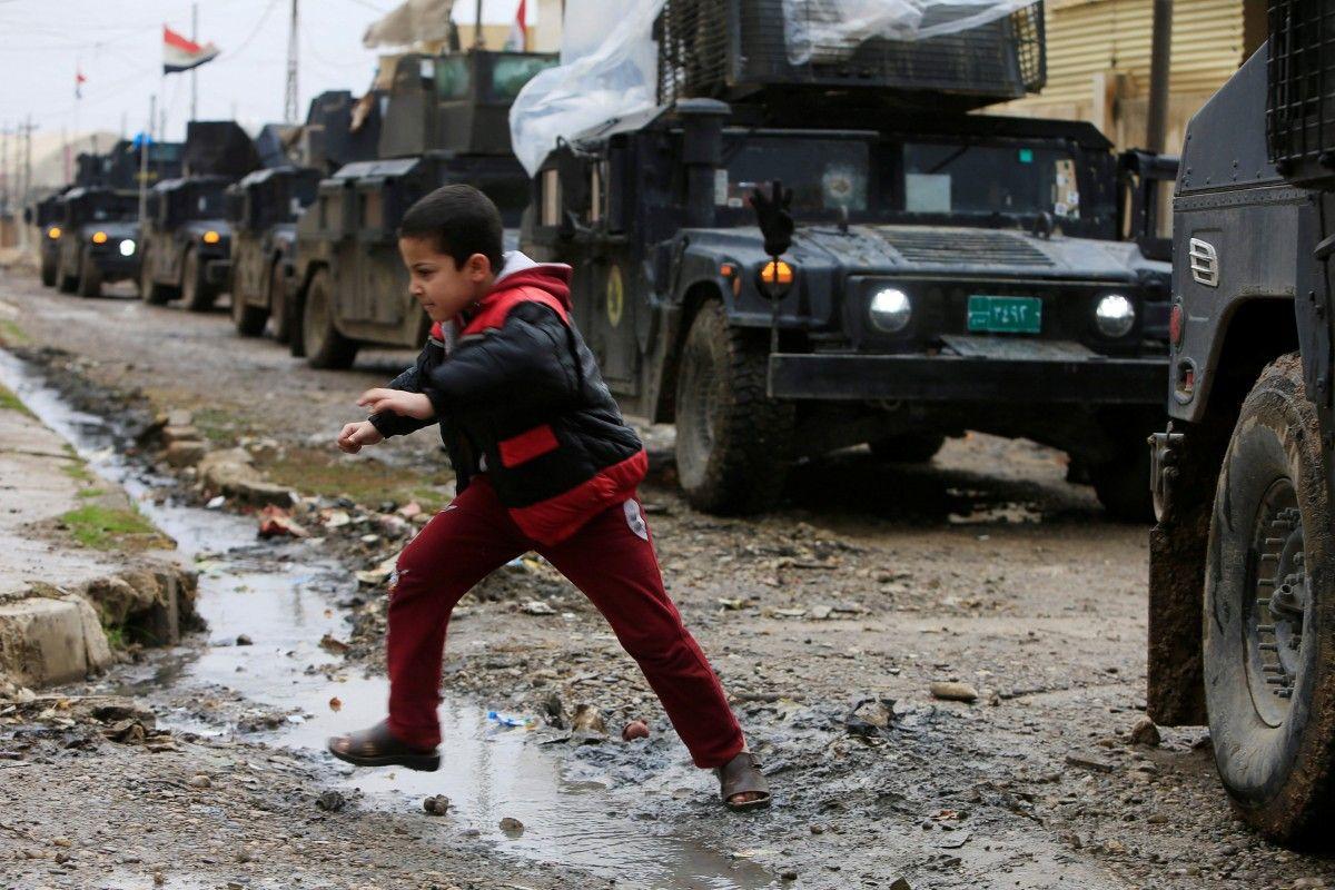 ООН готовится кбегству сотен тыс. людей иззападного Мосула