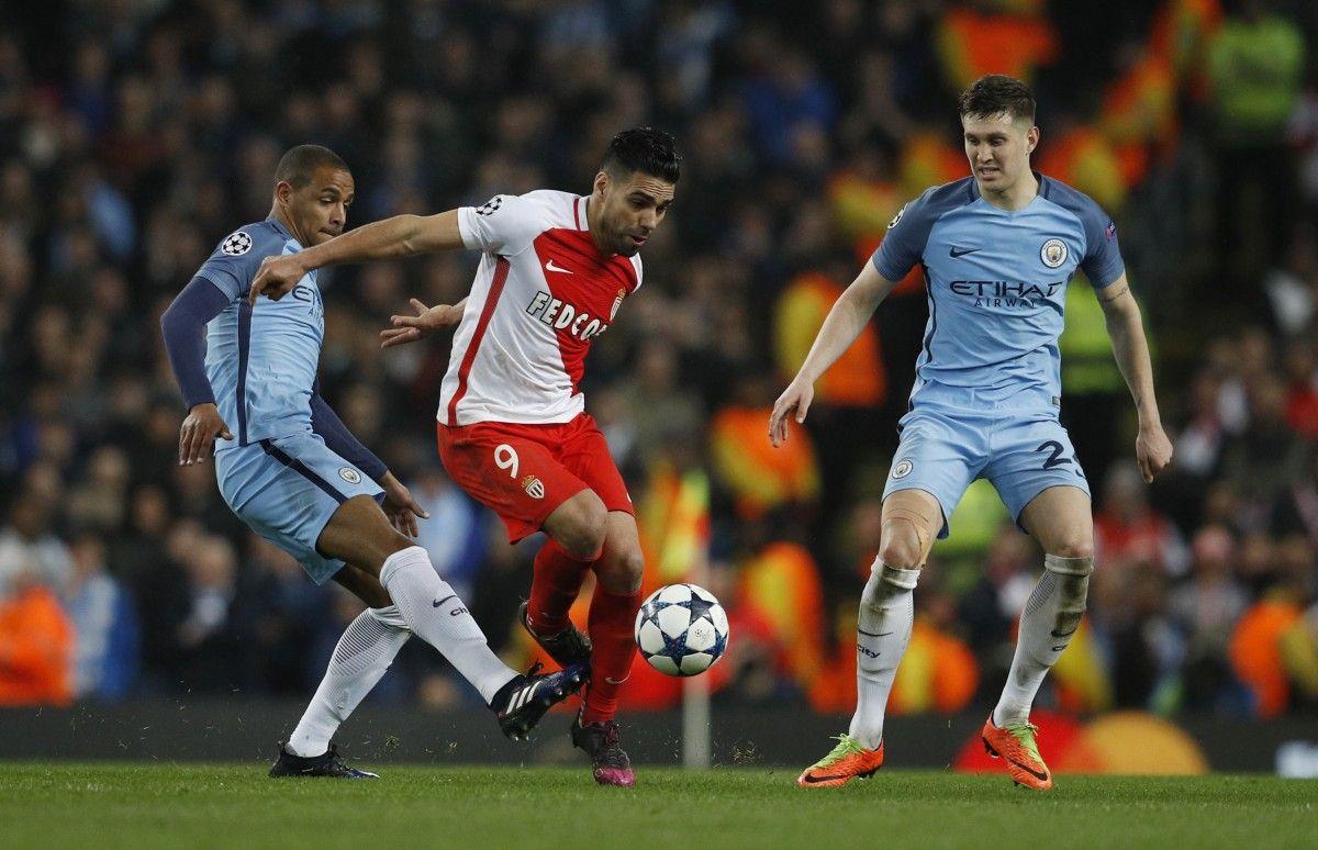 Вматче «Манчестер Сити»— «Монако» команды забили восемь мячей