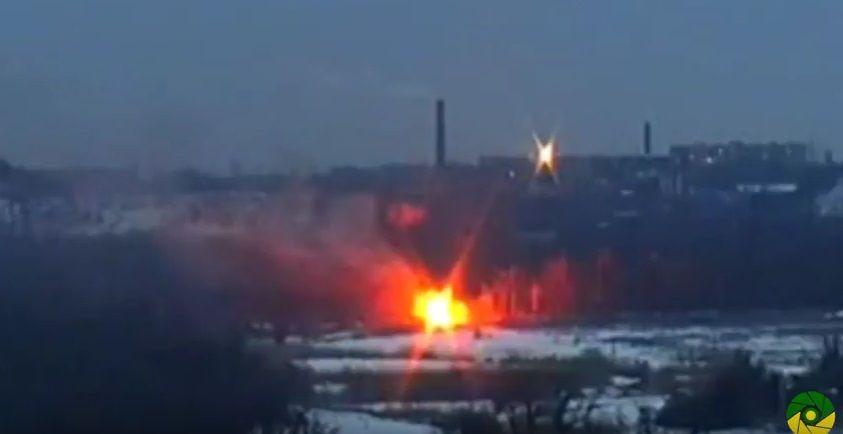 Знай наших: навидео украинский десантник содного выстрела ликвидировал БМП оккупантов