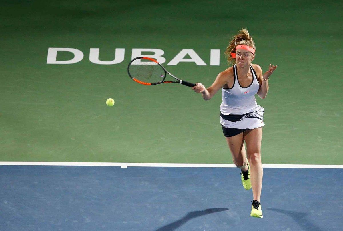 Свитолина одолела вторую «ракетку» мира ивыступит вфинале турнира вДубае
