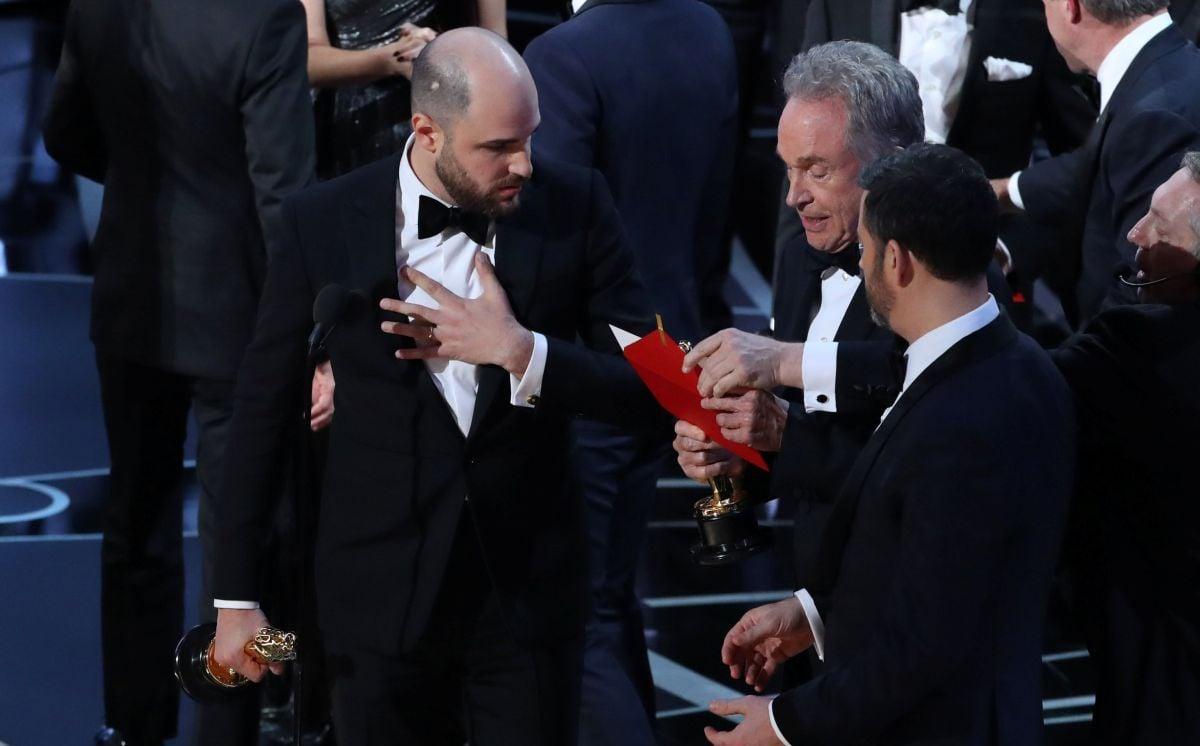 Виновные вошибке на«Оскаре» отстранены отработы скинопремией