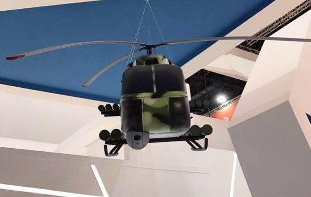 Украина показала навыставке вОАЭ новый боевой вертолет