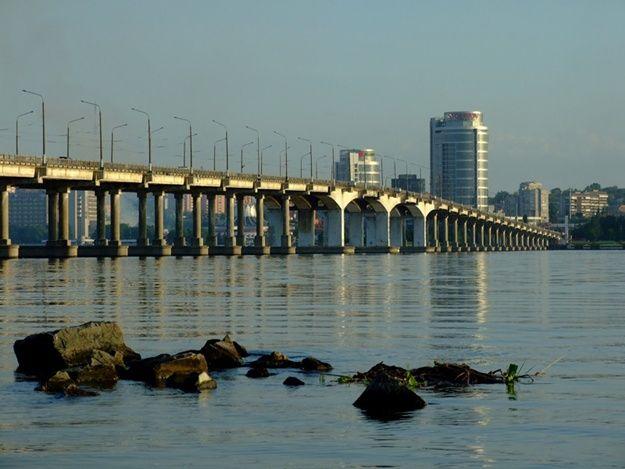 Новый мост вДнепре на100% перекроют уже 9марта