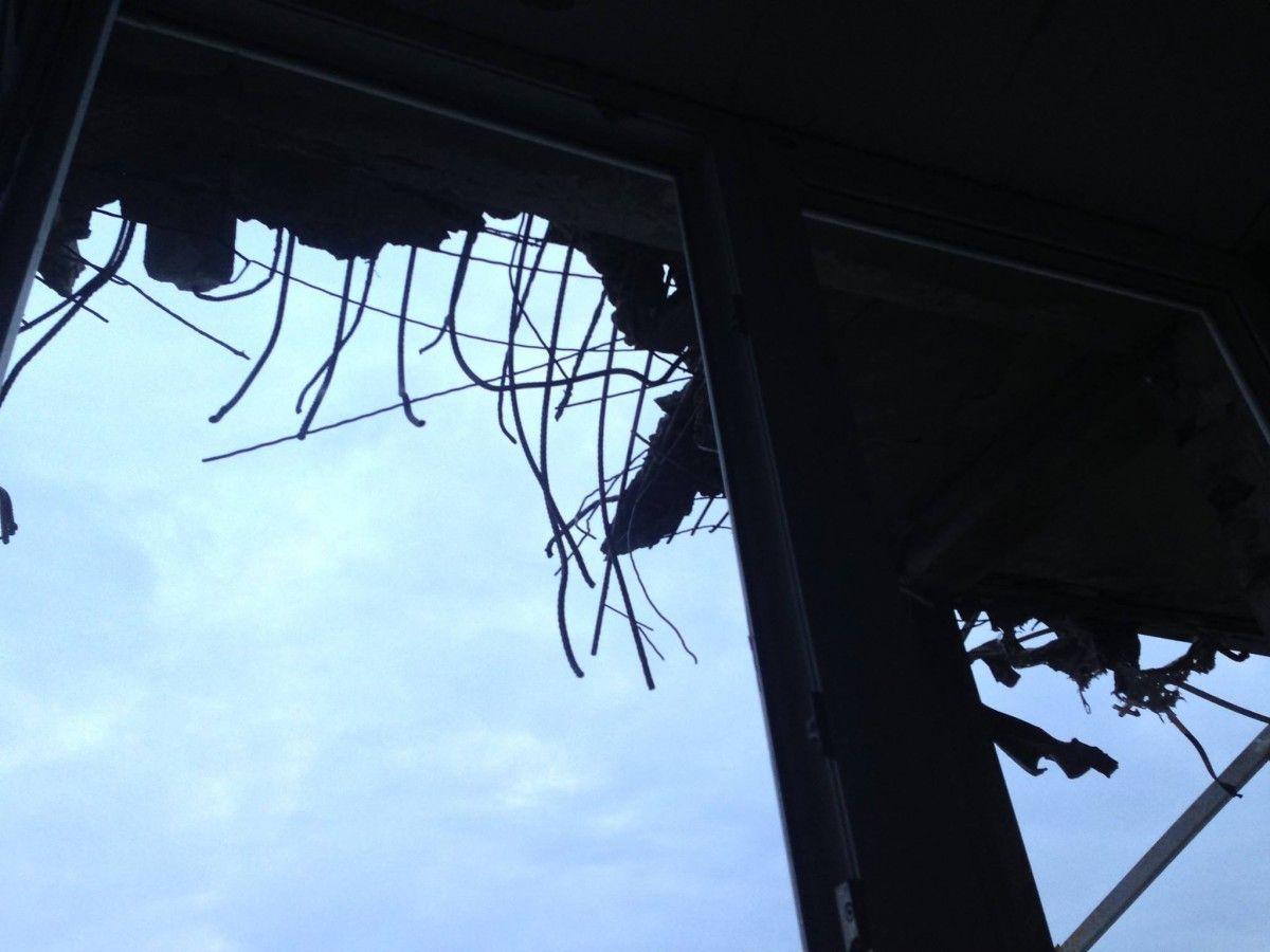 Боевики обстреляли дом, где находится пост украинской стороны СЦКК,— штаб АТО