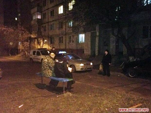 ВЖитомире рабочий военкомата выстрелил вмужчину иударил женщину из-за парковки