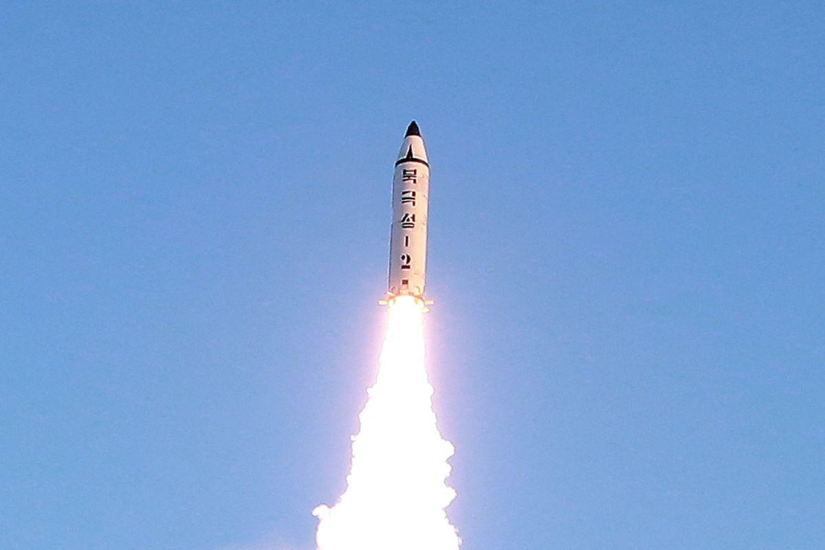 KCNA: Цель ракетных запусков КНДР заключается вучениях