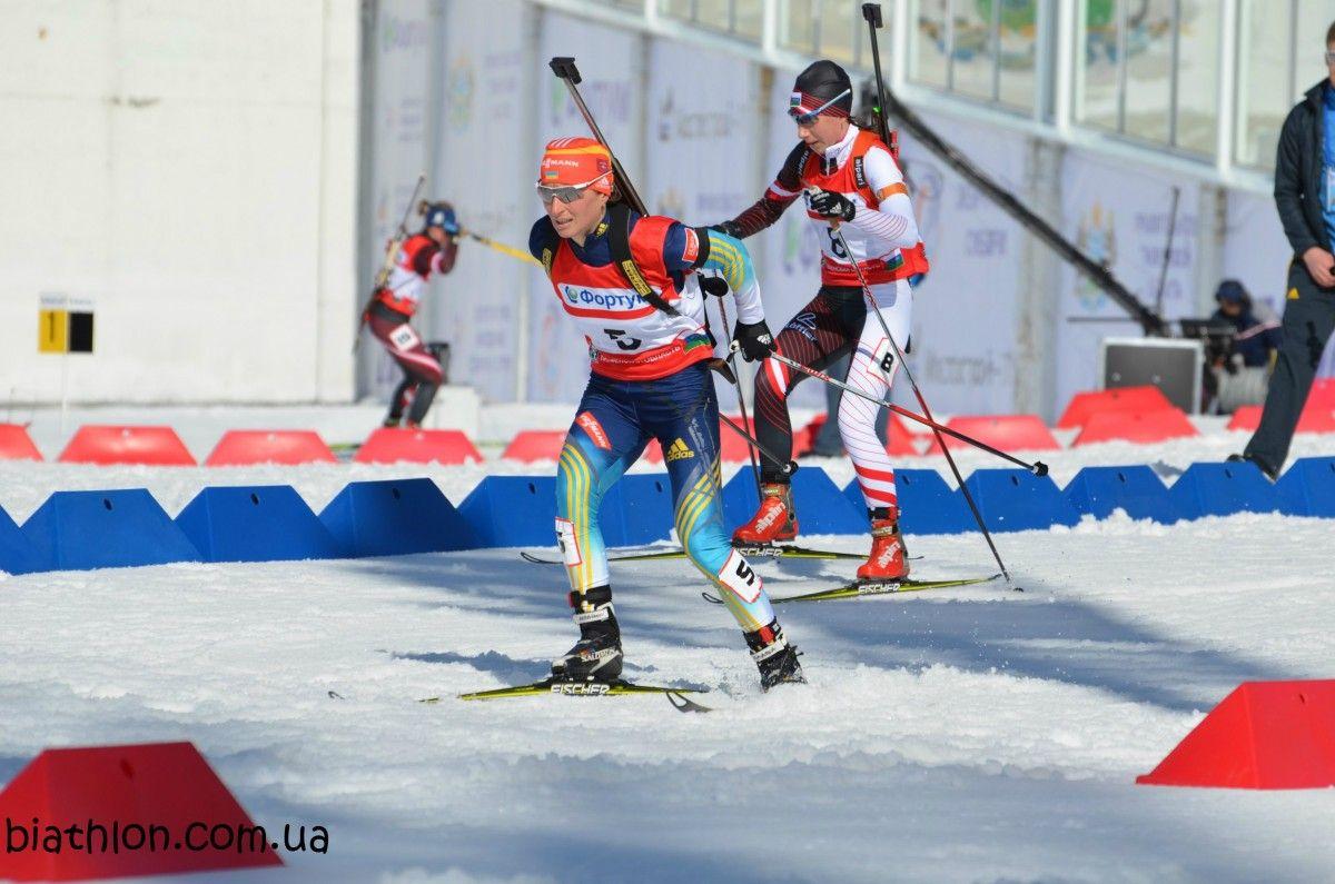 Сборная Украины побиатлону завоевала «бронзу» натурнире вЭстонии