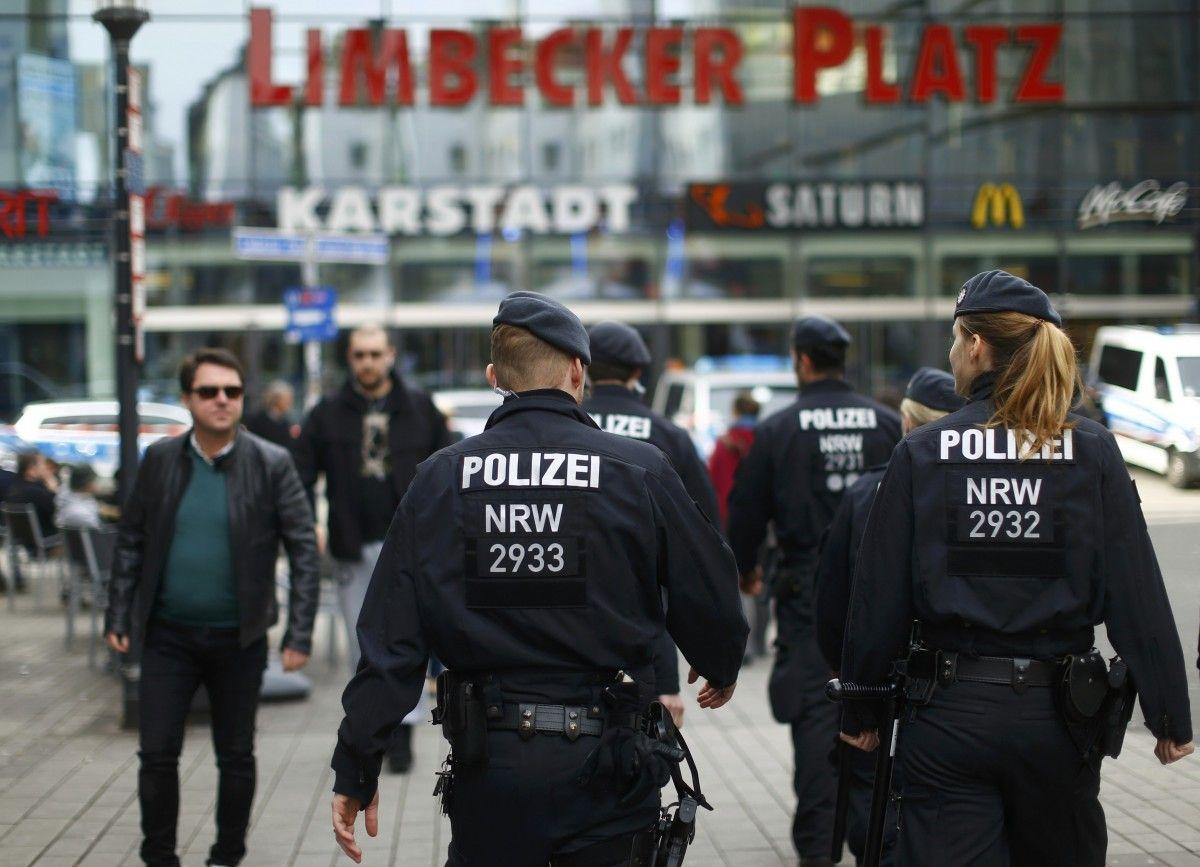 Германской милиции удалось предотвратить теракт в коммерческом центре Эссена