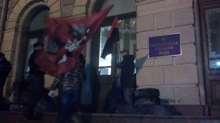 Активисты проинформировали опротестных выступлениях вРовно иЧерновцах