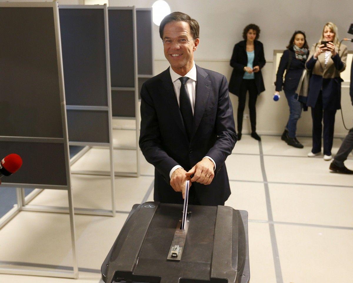Правящая партия Нидерландов победила навыборах