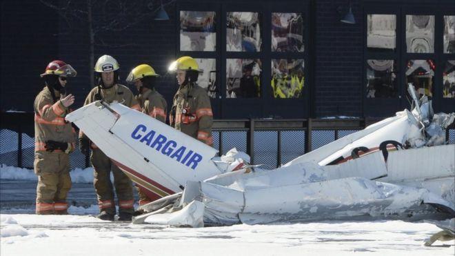 Два самолета столкнулись ввоздухе вКанаде