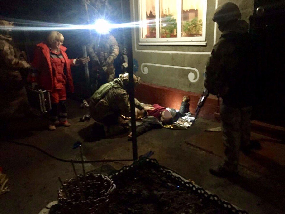 ВЧеркасской области спецназовцы убили  разбойника, который открыл поним огонь