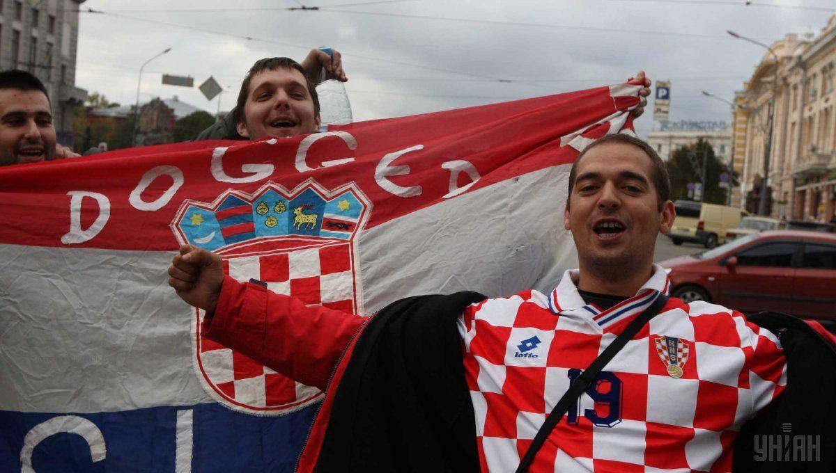 Украина минимально проиграла навыезде Хорватии вматче отбораЧМ