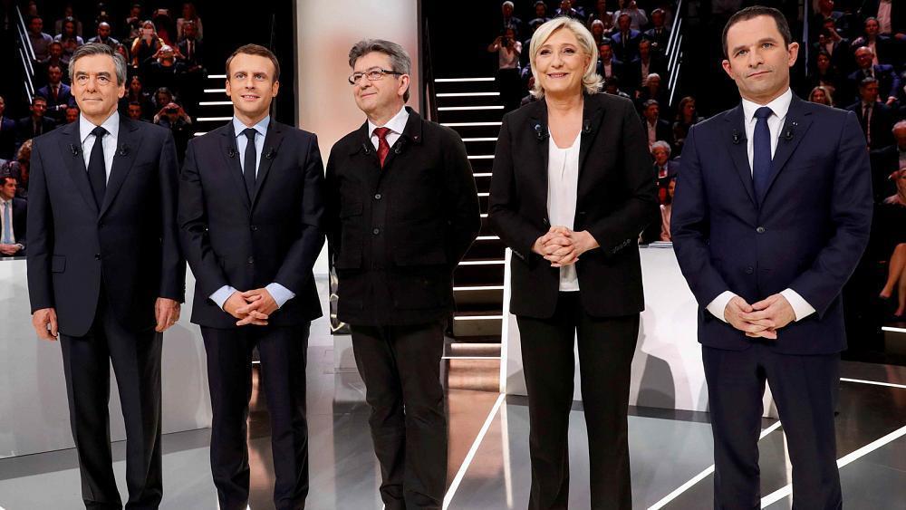 Зрители дебатов воФранции определили более убедительного кандидата впрезиденты