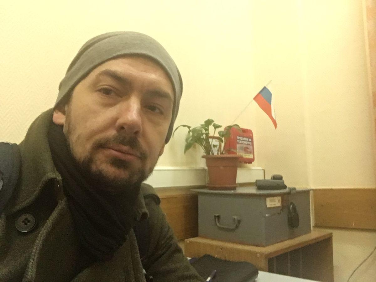 В столице милиция задержала украинского корреспондента Цимбалюка