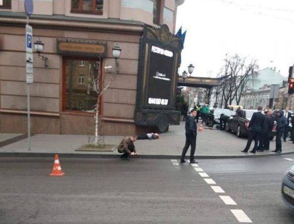 Вцентре украинской столицы убит экс-чиновник Государственной думы РФВороненков