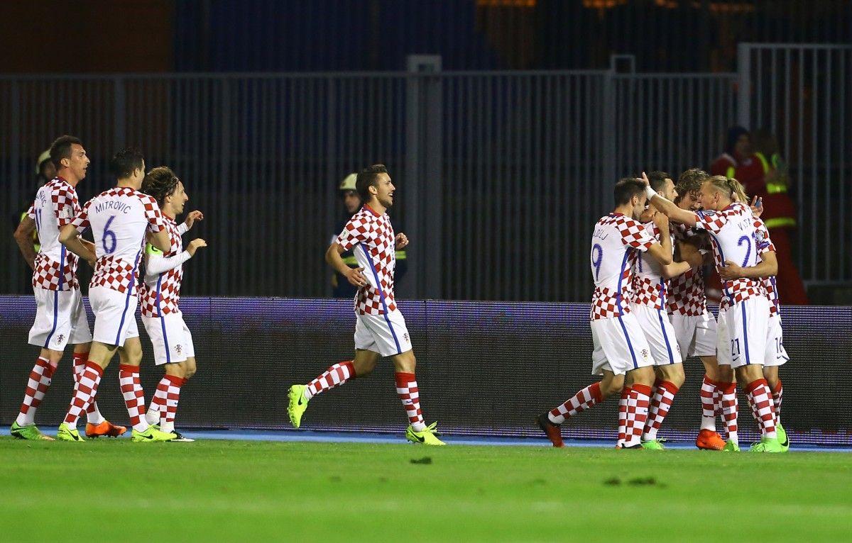Сборная Украины уступила хорватам вотборочном матчеЧМ