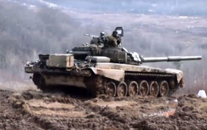 Как украинские танкисты проводят боевую подготовку на едином высокогорном полигоне