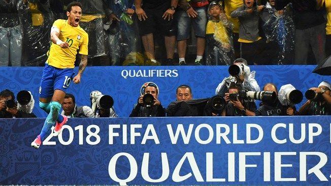 Сборная Бразилии оформила выход начемпионат мира