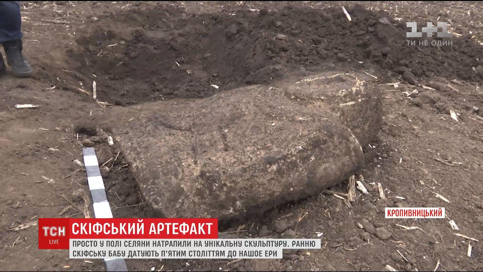 ВУкраинском государстве тракторист отыскал неповторимый скифский артефакт