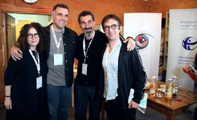 Музыкант Серж Танкян стал официальным наблюдателем завыборами вАрмении