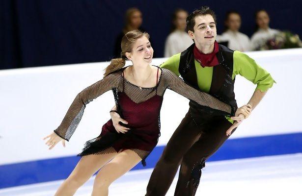 Украинская пара заняла 15 место наЧМ пофигурному катанию