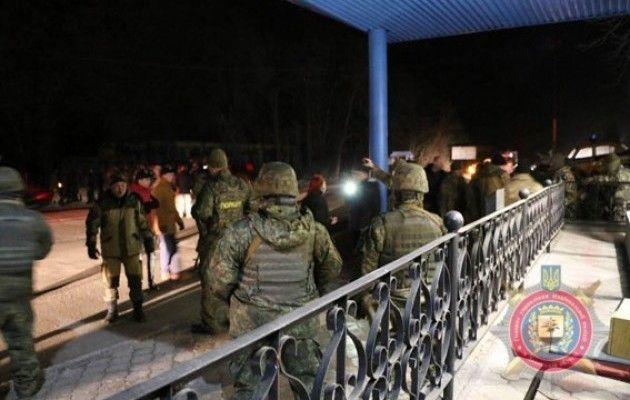 Милиция показала новое интересное видео— Конфликт сПарасюком