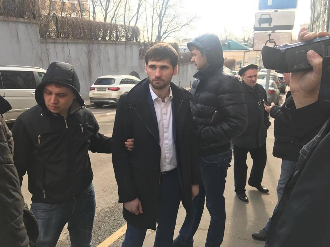 Активиста задержали после пресс-конференции